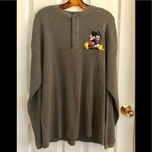 Mickey & Donald Thermal Henley